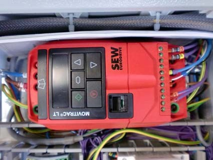 Frequenzumrichter 1,5 kw, SEW