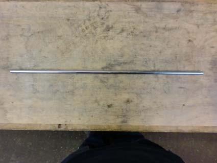 Untere Verbindungsstange 600 mm, Stahl verzinkt