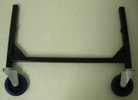 Fußrahmen 750 breit x 508 mm hoch, schwarz